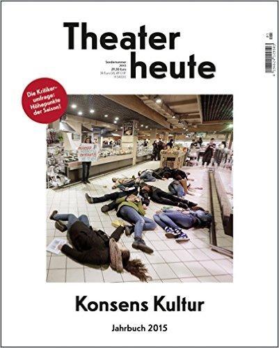 Theater heute - Das Jahrbuch 2015 ( 27. August 2015 )