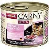 Animonda Katzenfutter Carny Kitten Baby-Pate, 6er Pack (6 x 200 g)