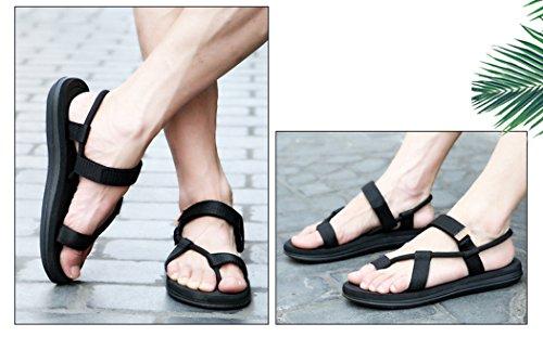 Chaussure Femmes Printemps Été Comfortable Faible Talon Chaussures ZX-XZ069Noir37 zft6dk