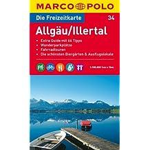 MARCO POLO Freizeitkarte Allgäu, Illertal 1:100:000