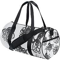 Rucksäcke & Taschen jstel Weihnachten blau Schneeflocken Sports Gym Tasche für Frauen und Herren Duffle Reisetasche Klassische Sporttaschen
