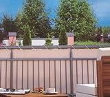 Home & Garden - Telo paravista per balcone da 600 x 90 cm, colore: Beige