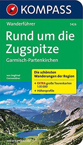 Guida escursionistica n. 5426. Rund um die Zugspitze, Garmisch-Partenkirchen