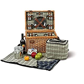 Picnic Hamper 4 Person Fitted Picnic St. Tropez Case
