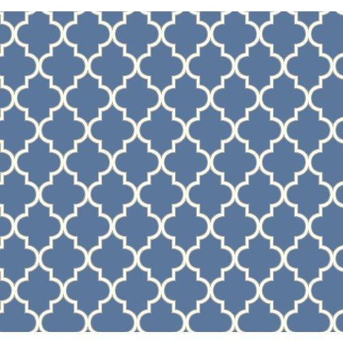 york-wallcoverings-er8201-waverly-cottage-buzzing-around-trellis-wallpaper-azure-blue-swan-white-ste