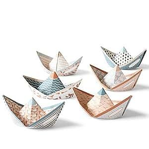 """'Set per creare carta barche """"Sweet Fleet–Set da 6"""