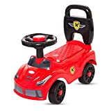 #10: Baybee Chiron Ride On Push Car Toy I No Batteries, Gears, Or Pedals,Twist, Turn Push Car Toy for Endless Fun I Suitable for Boys & Girls - Red