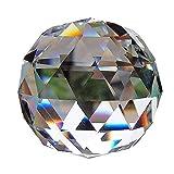 Eizur Kristallkugel regenbogenkristall Feng Shui glaskugel 8CM sonnenfänger Garten