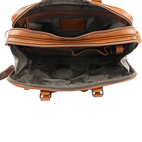 Brics Life Pelle Cartella portadocumenti, in pelle, Unisex, leather, Taglia unica leather
