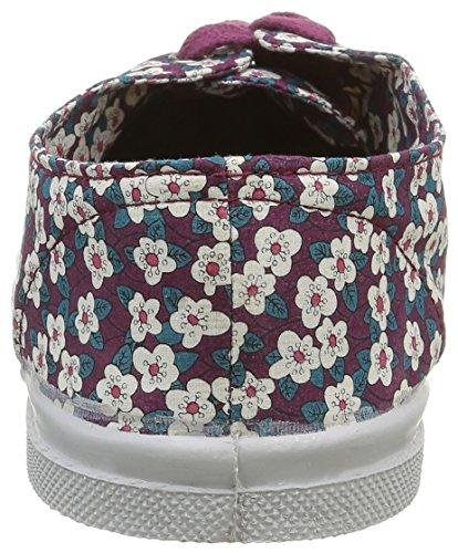 Bensimon Damen F15004c258 Sneaker Mehrfarbig - Multicolore (9981 Petites Fleurs)