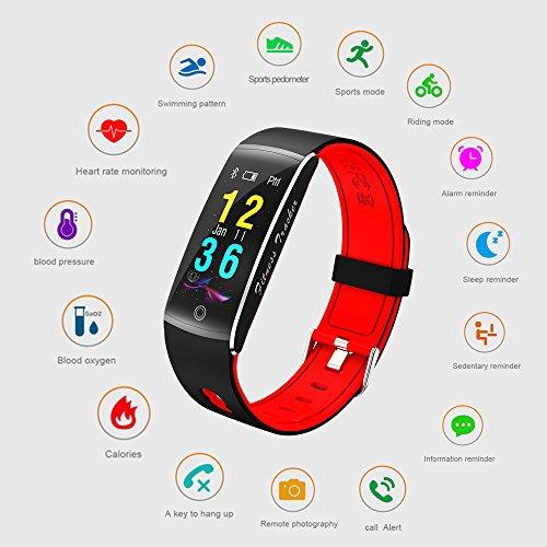 Zoom IMG-1 fitness tracker smart watch 4