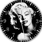 NEW Horloge murale Marilyn Monroe 25,4cm sera joli cadeau et de Chambre Décoration murale Y102