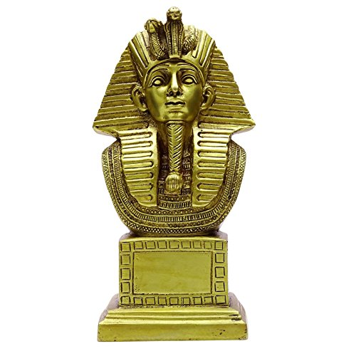 Dekorative Messing Decor Metall-Garten-Kunst König Tut Pharao Statue Büro-Tabelle (Statue Von König Tut)