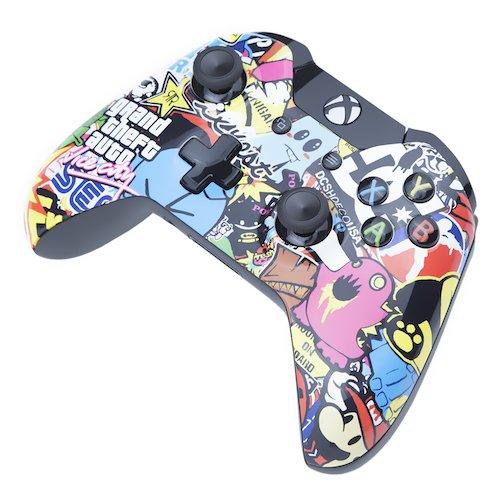 Xbox One Custom Controller Retro Bomb Edition