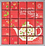 English Tea Shop Organic Pink Advent Calendar (Pack of 24 Pyramid Tea Bags)