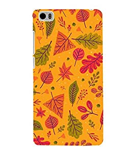 EPICCASE leafs Mobile Back Case Cover For Xiaomi Mi5 (Designer Case)