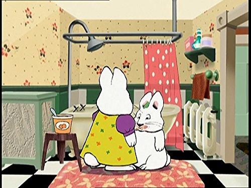 Max nimmt ein Bad (Unten Kleidung)