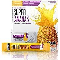 Zuccari Super Ananas Integratore Alimentare per il Peso - Pacco da 30 Bustine x 10 ml - Totale 300 ml