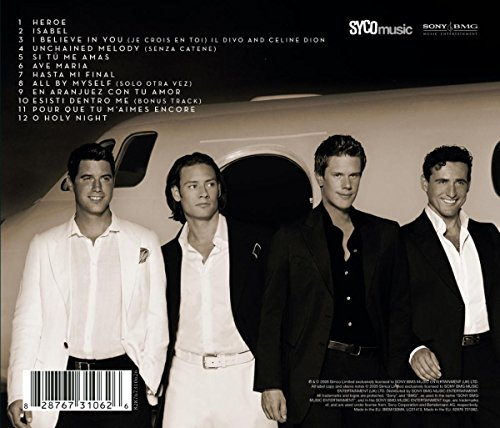 The greatest hits il divo mp3 downloads - Il divo amazon ...