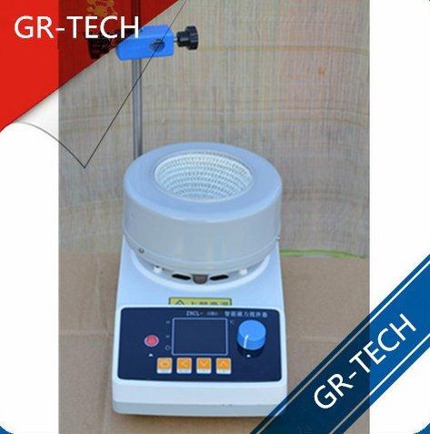 gr-tech strumento® zncld-ts-2000ml display digitale intelligente Timing agitatore magnetico riscaldamento