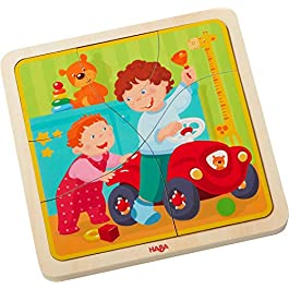 Haba–puzzle in legno la mia vita | puzzle in legno per 3anni Olds | 303680