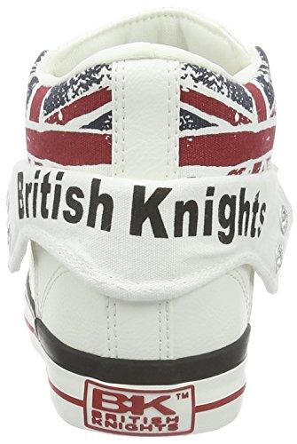 Jack De Blanc Britânicos amável branco Union Unisex Hoch Roco Cavaleiros Basquete avx4n