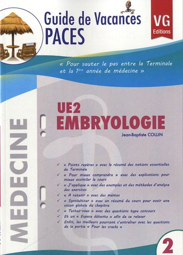 UE 2 Embryologie par Jean-Baptiste Collin
