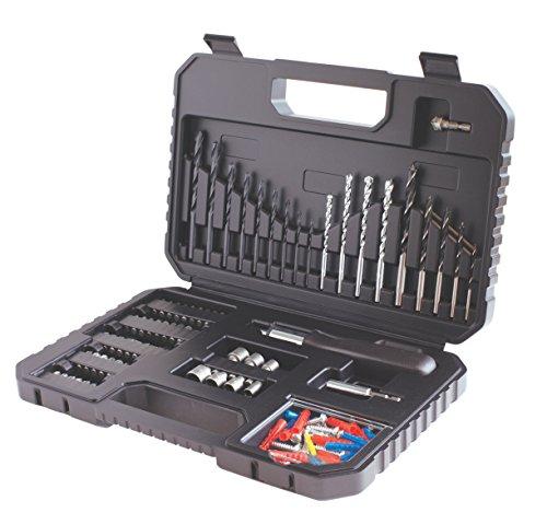 Black & Decker A7220-XJ Koffer mit Bohr-/Schraubzubehör, 120-teilig
