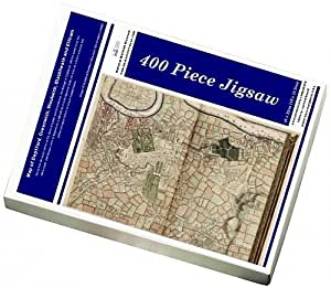 Media Storehouse 400 Piece Puzzle of Map of Deptford, Greenwich, Woolwich, Blackheath and Eltham (3688900)