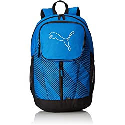 Puma Echo Backpack - Mochila, color azul (electric blue lemonade), talla 30 x 46 x 18 cm (26L)
