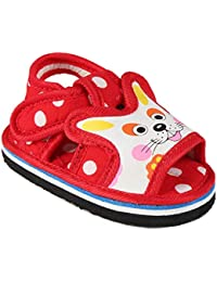CHIU Chu-Chu Red Sandal with Strip for Baby Boy and Girl