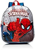 Artesanía Cerdá 2100001116 Spiderman Mochila Infantil, Color Azul Marino y Rojo