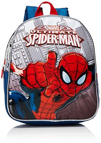 Artesana-Cerd-2100001116-Spiderman-Mochila-Infantil-Color-Azul-Marino-y-Rojo