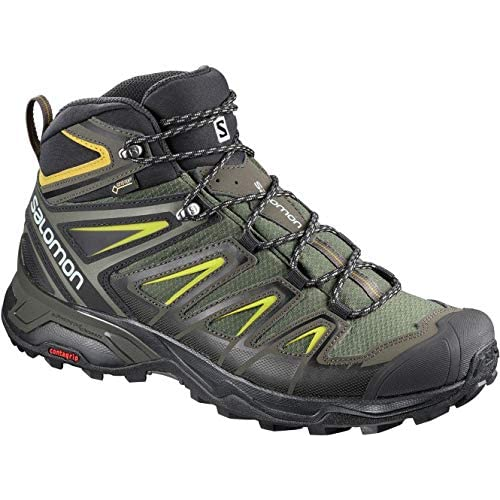 516rkkJrv3L. SS500  - SALOMON Men's X Ultra 3 Mid GTX High Rise Hiking Boots