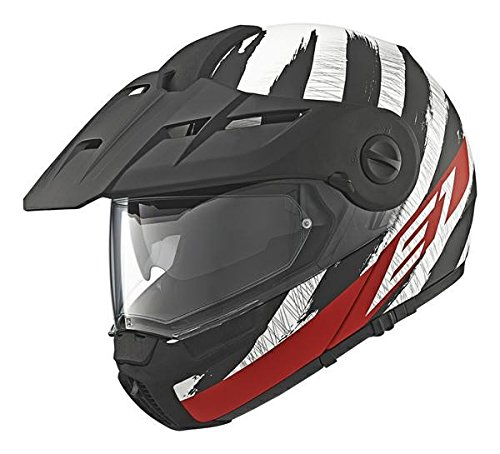 Schuberth, E1 DVS - Casco modular Hunter para moto, tipo flip up, col