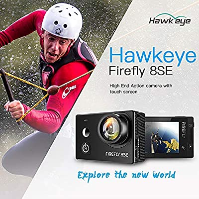 Goolsky Hawkeye Firefly 8SE 4K 16MP 170° Wide Angle Wifi BT FPV Camera for QAV250 H210 F450 F550 RC Drone Quadcopter Aerial Photography