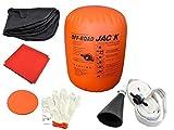 Vogvigo Martinetto Cric / Sollevatore, Gonfiabile Auto Aack ,4 ton Gonfiabile e Pompa di Scarico Doppio Uso - 4T/4000Kg