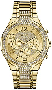 Guess Sport Watch for Women, Stainless Steel, Analog - W0628L2