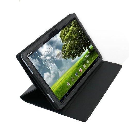 Foto Navitech Custodia Flip Bycast Premium Executive Nera per Asus EeePad Transformer TF101 10.1 pollici Tavoletta PC Android 3.0