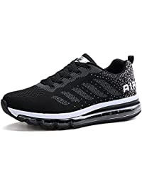 Homme Femme Baskets Chaussures de Course Sneakers Outdoor Running Sports Fitness Gym Shoes(833BK42)
