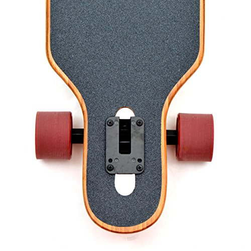 Apollo Longboard Special Edition Komplettboard mit High Speed ABEC Kugellagern, Drop Through Freeride Skaten Cruiser Boards -