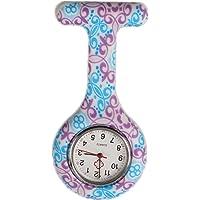 Tunica medica in silicone per infermieri, orologio al quarzo, a batteria, spilla impermeabile, design orologio, orologio…