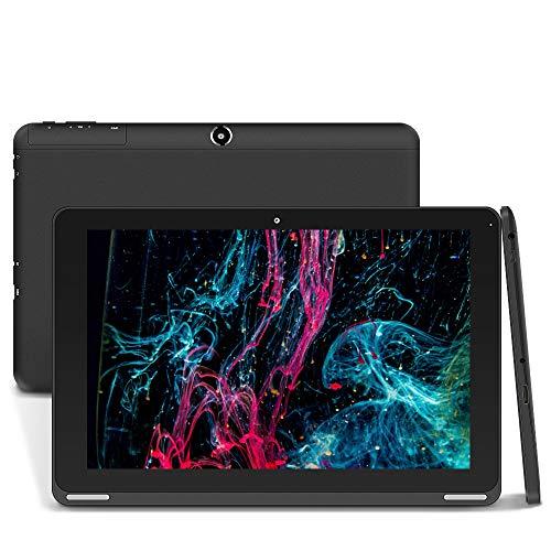 YUNTAB B102 10,1-Zoll-Tablet-PC, 64-Bit-Android-Tablet - Quad-Core, Android 6.0,1 GB RAM / 16 GB ROM, IPS-Touchscreen, Bluetooth / WI-FI / HDMI / Dual-Kamera(Schwarz)