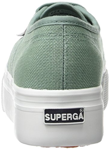 Malachite Vert Superga 2790 Acotw verde Verde Femme Cestini Bassi xP8qxX