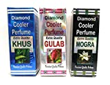#8: 3 pc. COMBO COOLER PERFUMES (KHUS GULAB MOGRA) Best quality COOLER PERFUMES