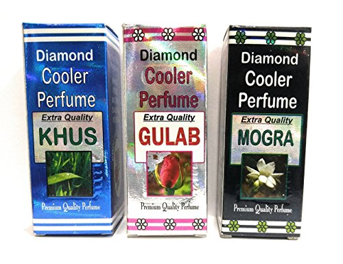 3 pc. COMBO COOLER PERFUMES (KHUS GULAB MOGRA) Best quality COOLER PERFUMES