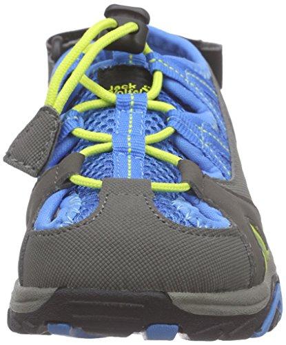 Jack Wolfskin Unisex-Kinder Lakewood Cross Sandal K Sport-& Outdoor Blau (brilliant blue 1152)