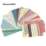 27 pcs/sac DIY Mignon Kawaii Papier Dot Autocollants Vintage Portfolios Masquage Autocollant pour Journal Scrapbooking
