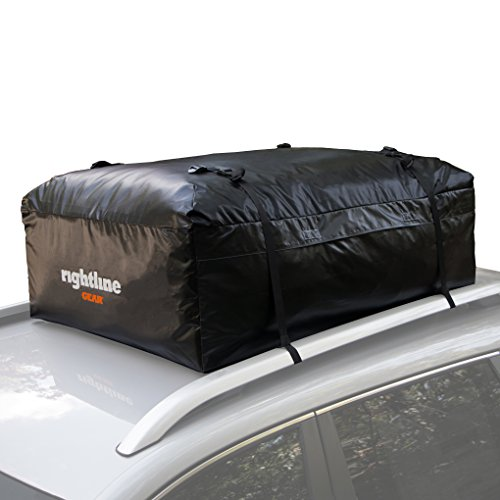 Preisvergleich Produktbild Rightline Gear 100A20 Ace Car Top Carrier, 15 cubic feet, works with or without vehicle roof rack by Rightline Gear