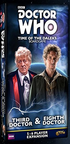 Gale Force Nine GF9DW003 Doctor Who: Time of The Daleks 3rd & 8th Doctors Expansion, Mehrf Preisvergleich